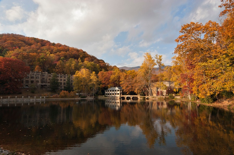 Lake Susan at Montreat, NC