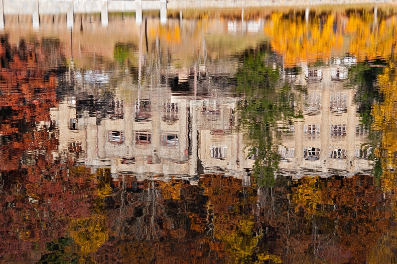 Assembly Inn Reflected in Lake Susan