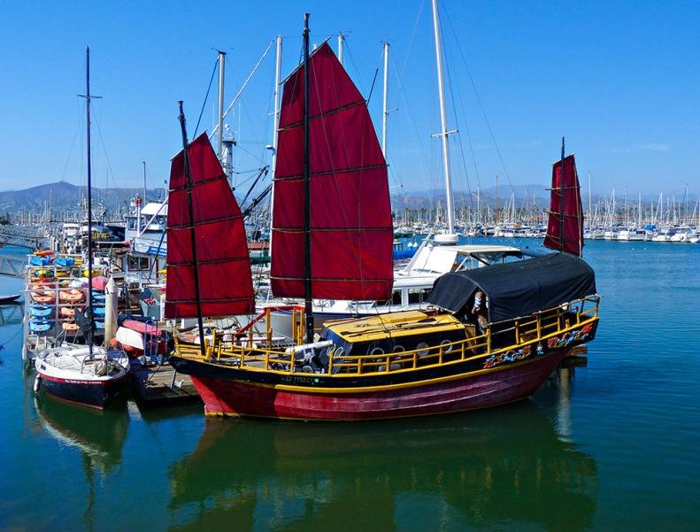 At Ventura Harbor