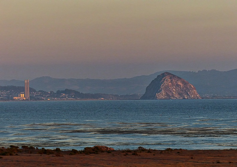 Morro Rock at 576 feet, is sometimes called